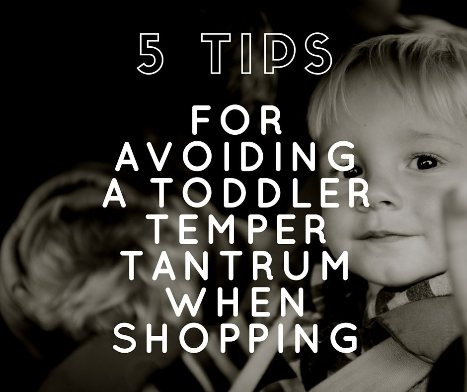 5 Tips for Avoiding a Toddler Tantrum When Shopping  If you're planning a shopping trip with your toddler, you'll be crossing fingers you can get him around town without a tantrum. But that's easier said than done in crowded shops and long lines.  http://childdevelopmentinfo.com/child-activities/5-tips-for-avoiding-a-toddler-tantrum-when-shopping/