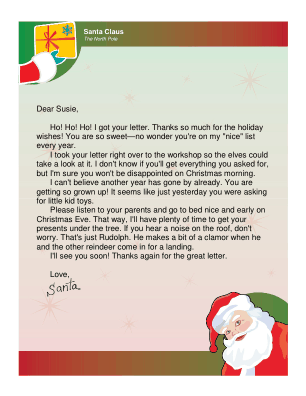 Kids Who Write And Send Letters To Santa Want To Know If Their
