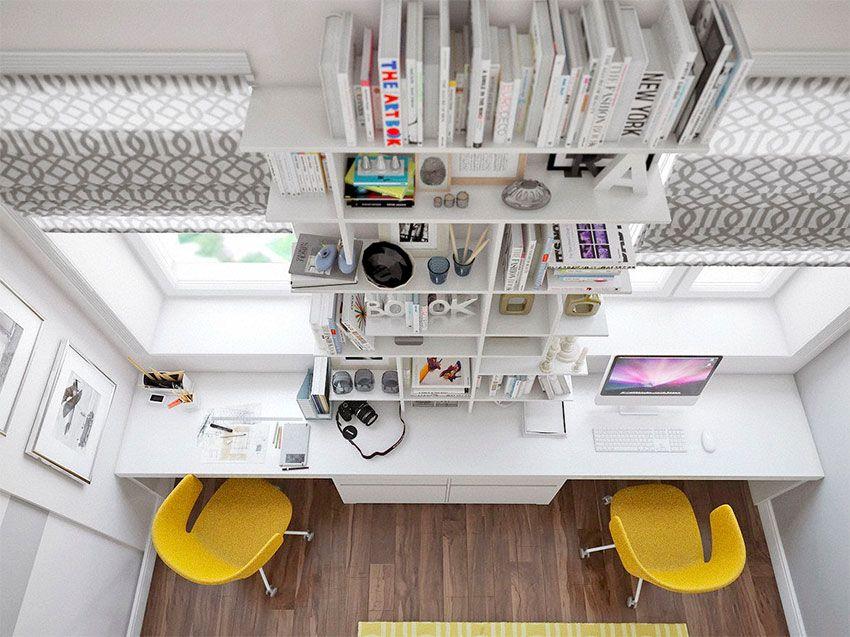 Bureau double idées pour partager son bureau bureaux