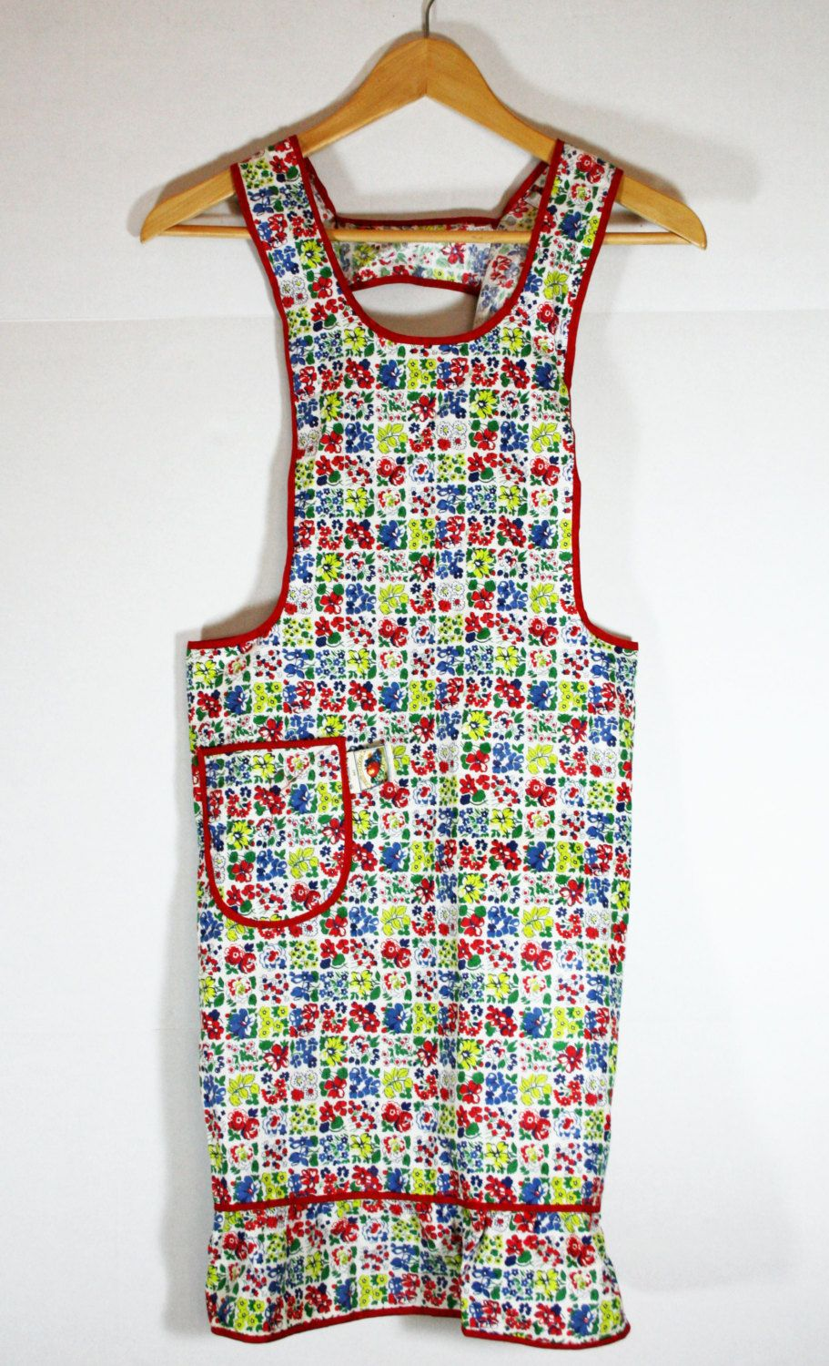 Vintage Silin's Fruit of the Loom Full Apron Excellent