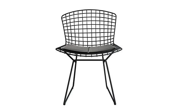 bertoia side chair with vinyl seat pad seat pads side chair and