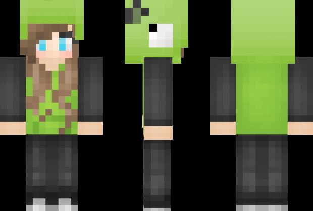 Gir Invader Zim Minecraft Skin Minecraft Pinterest Minecraft - Skin para minecraft o