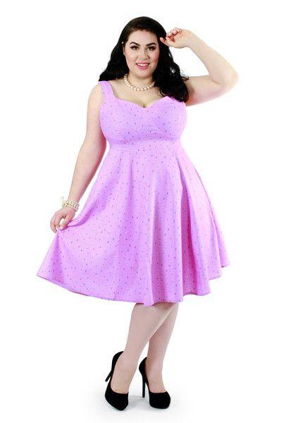 c1c67e2cf6f Doris Dress - Mauve Sprinkles