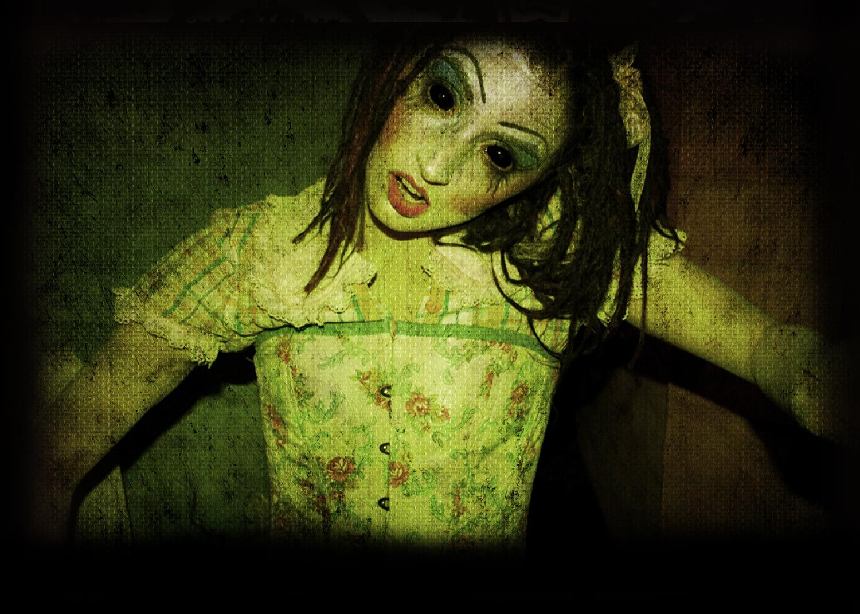 kings dominion halloween haunt doll factory <3 o_o | halloween