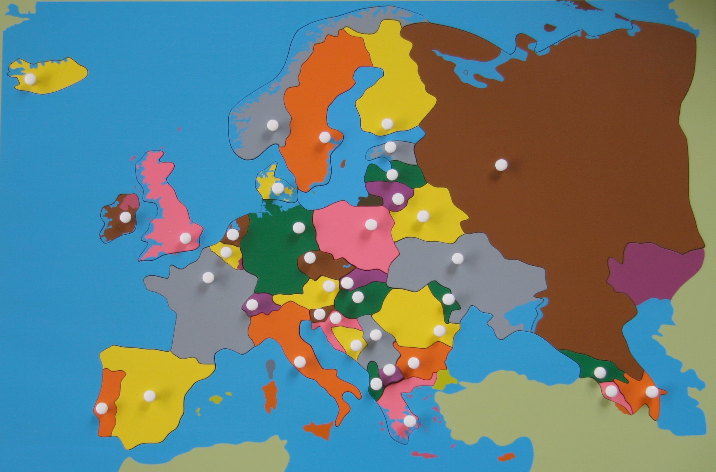 Jigsaw Puzzle Map Puzzle Europe Map Atlas Map