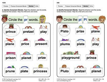 5 letter words starting with pl produce consonant blends pl and pr lesson 1 book 2 26090
