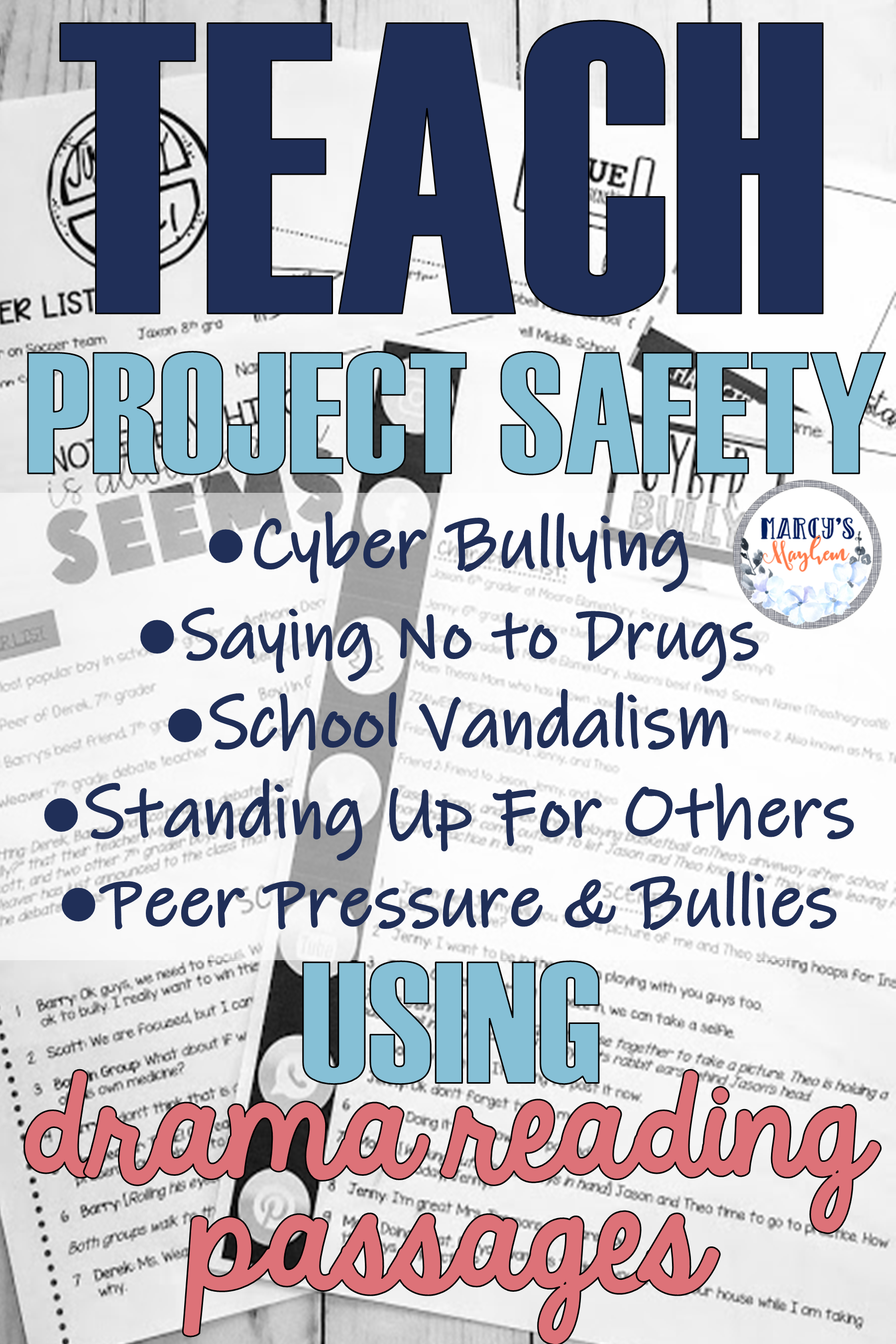Teach Project Safety Lessons Using Drama Reading