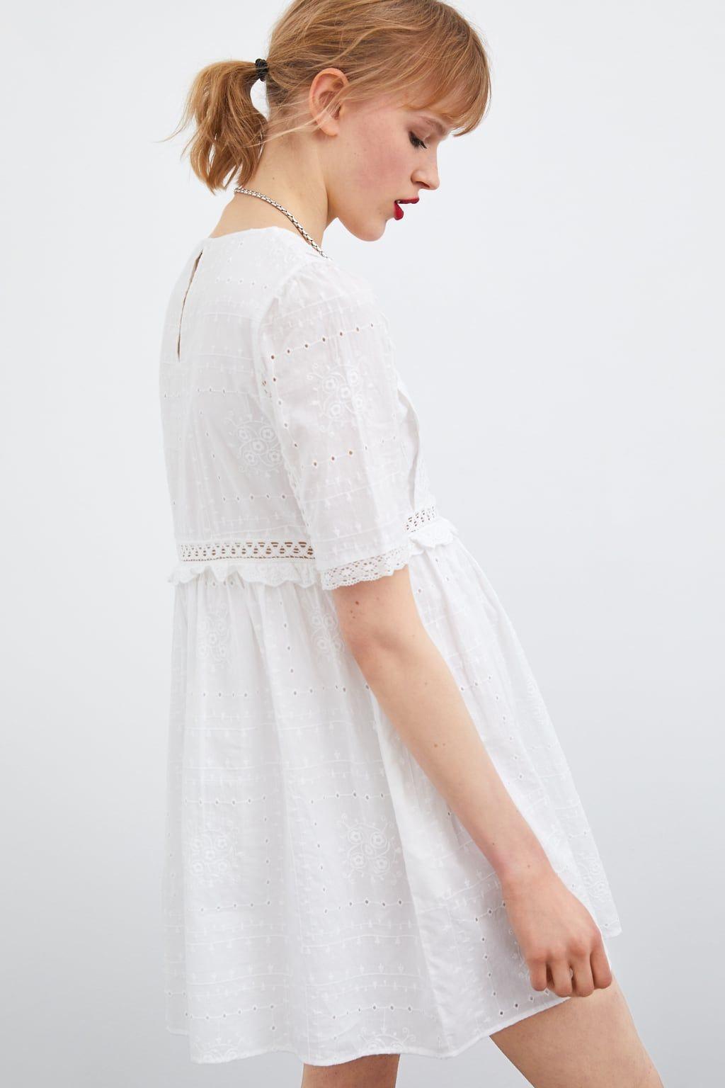 Bordado En 2019Style Vestidos Inspo Vestido Perforado ALcS3Rq54j