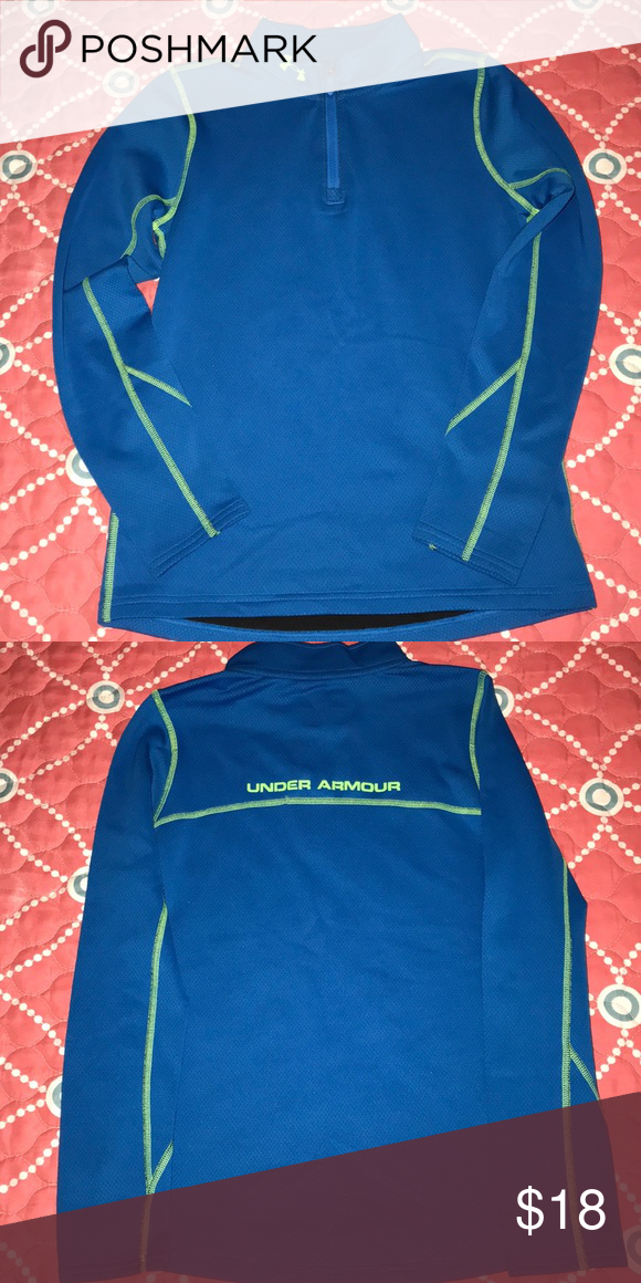 bcc342946e4 Boys Under Armour top New without tags. Fitted cold gear size youth large. Under  Armour Shirts   Tops