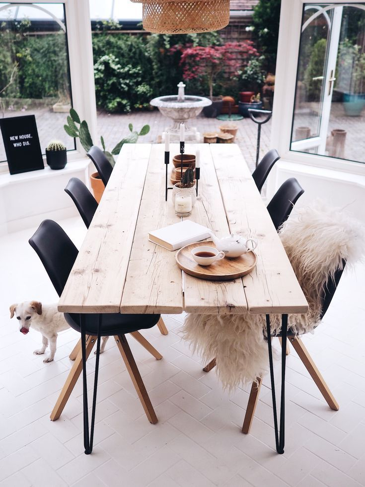 So Cute Diy Dining Room Table Diy Dining Room Diy Dining Table