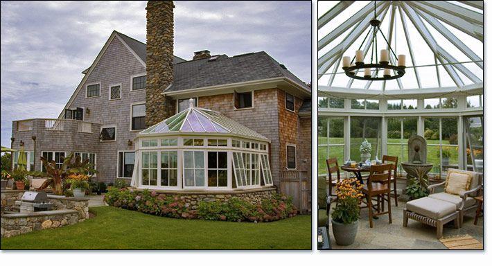 Bay End Conservatory Sun Room Naragansett Rhode Island