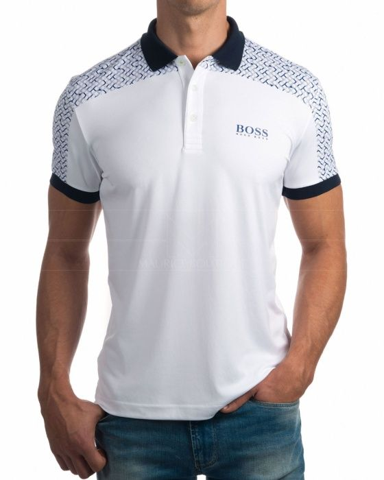 Polos Hugo Boss - Paddy Pro 2 Blanco. Polo HommeChemiseHommesHugo ...