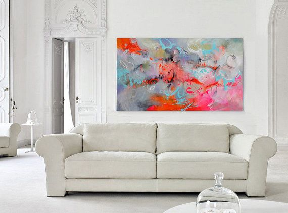 Marvelous Check Out Large Abstract Art, Modern Art Canvas, Living Room Decor, Fine Art Nice Ideas