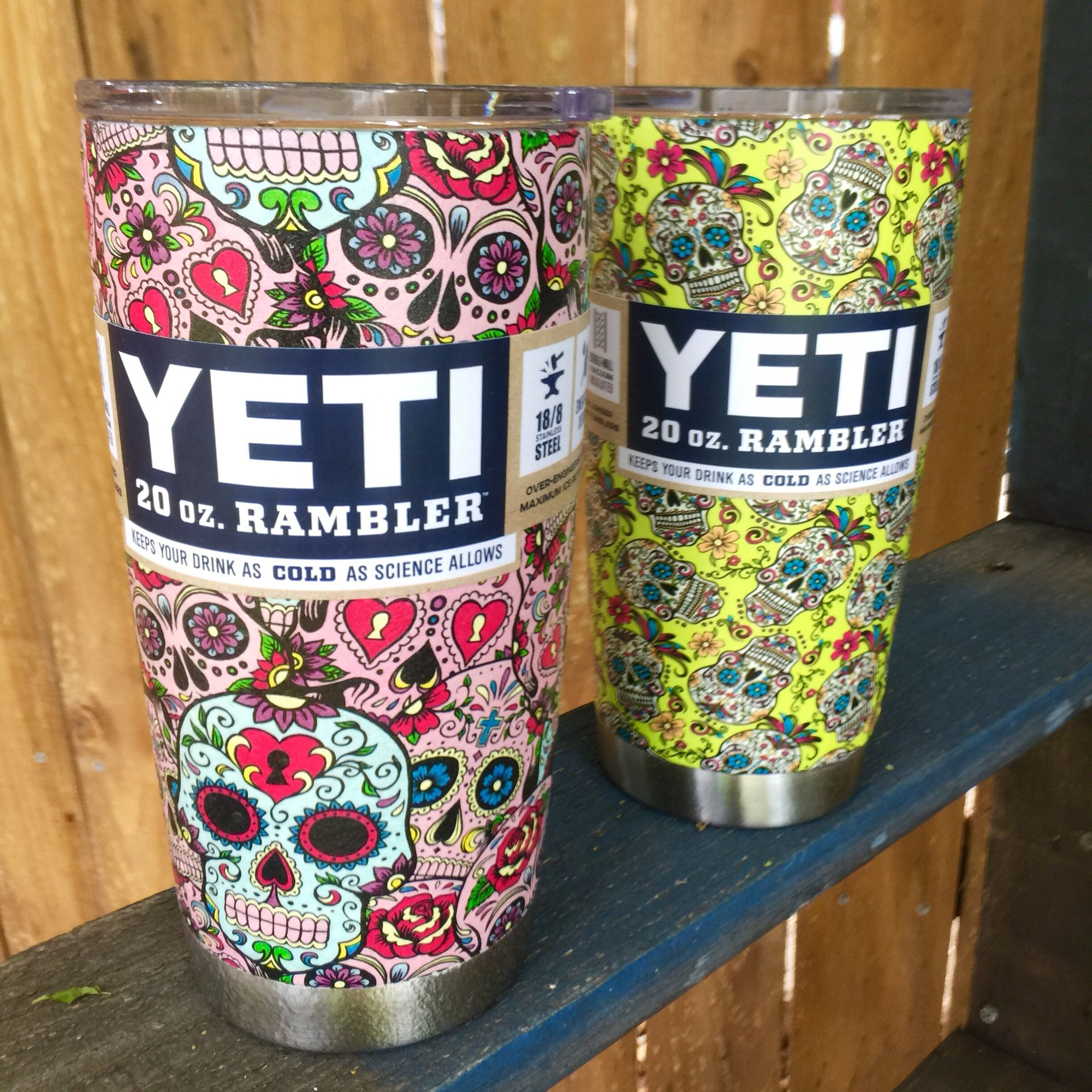 custom hydro dipped yeti rambler by texas hydro  find us on facebook