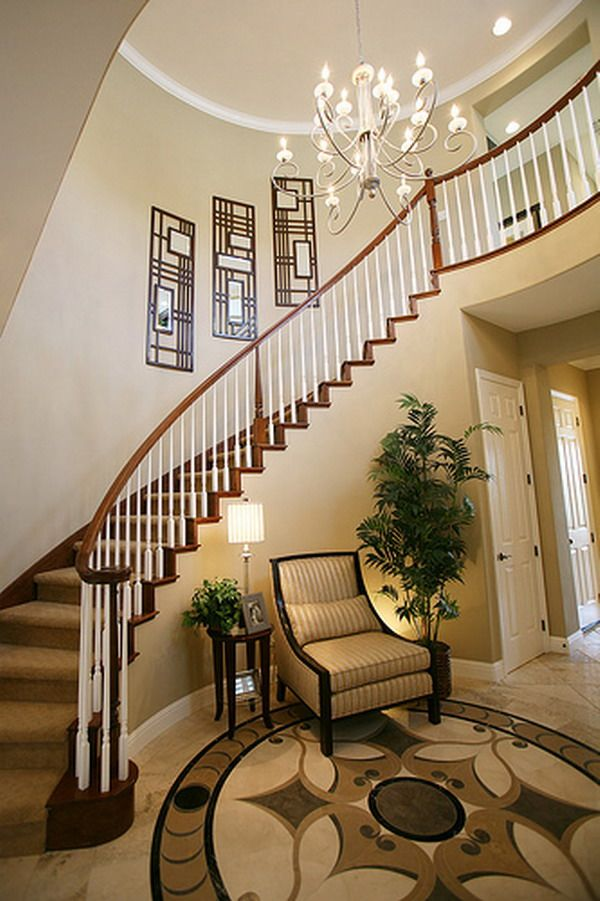 Stairs designs for house stairs design design ideas for Foyer staircase decorating ideas