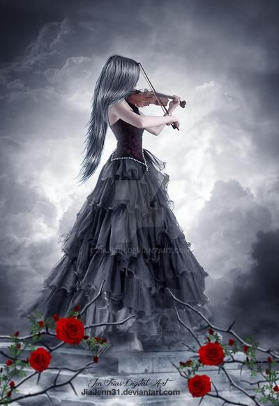 Every rose has its thorn by jiajenn on DeviantArt