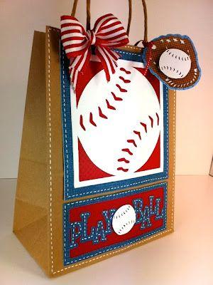 Baseball Gift Bag For Birthday S Babyshower Favor Team Giftbags