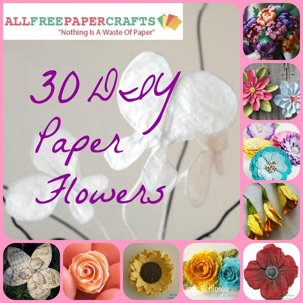 How to Make Paper Flowers  DIY Paper Flowers  Diy paper Paper