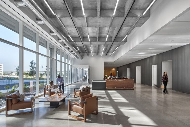 Office Tour Chase Regional Headquarters Plano
