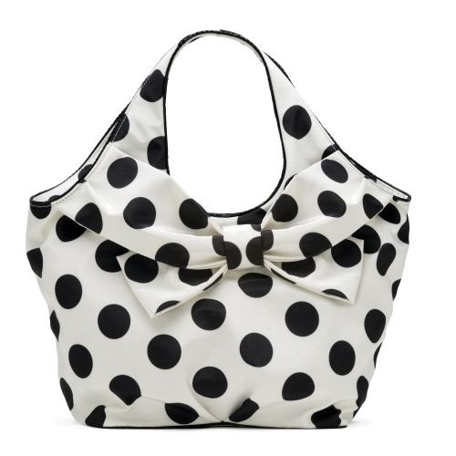 Black And White Polka Dot Kate Spade Handbag
