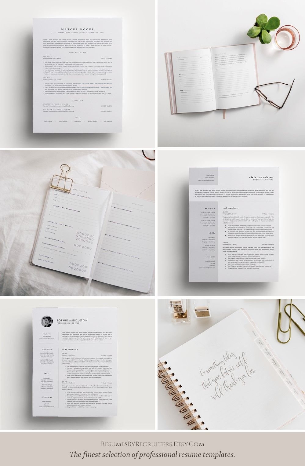 Perfect Resume Templates, Best CV and Cover Letter