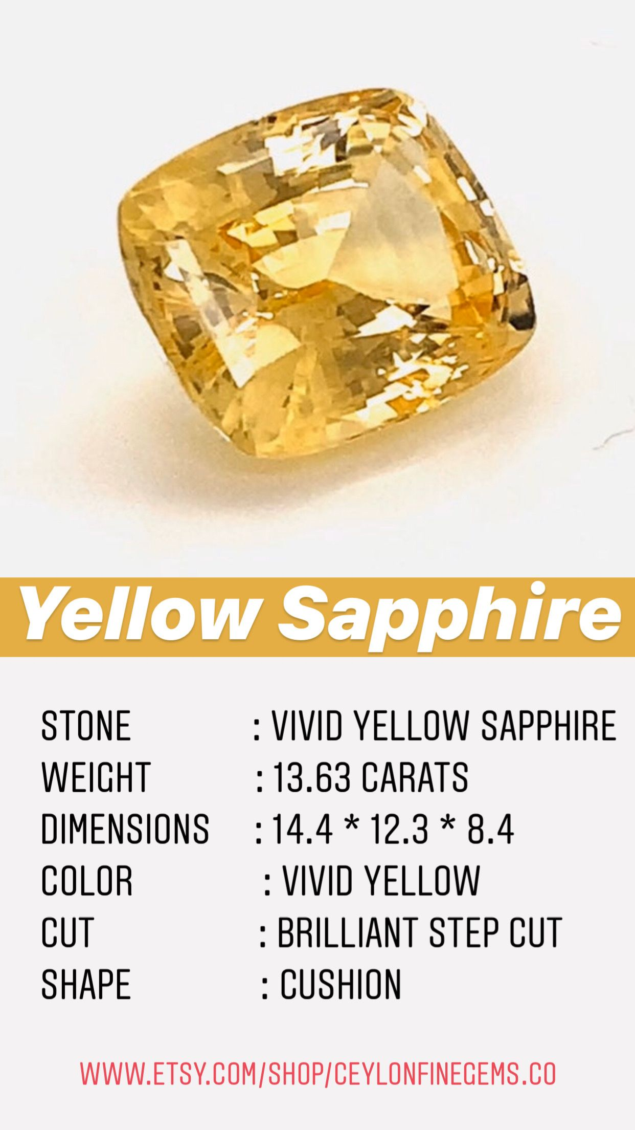 Yellow Sapphire 13 6 Cts Unheated Yellow Sapphire For Vedic Ring Yellow Sapphire Engagement Ring Yellow Sapphire For Astrology Ring Making In 2020 Yellow Sapphire Ring Engagement Engagement Rings Sapphire Yellow Sapphire Rings