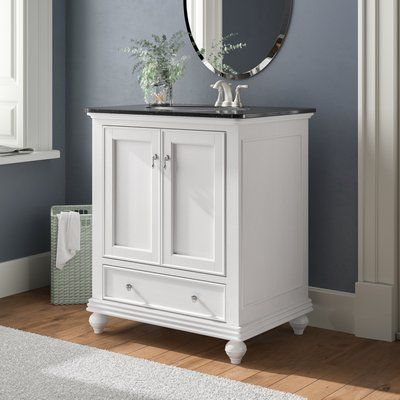 "Charlton Home® Snydertown 30"" Single Bathroom Vanity Set | Wayfair"