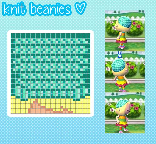 Pattern For Knit Hat Animal Crossing Animal Crossing Hair