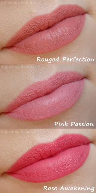 Review Of Avon True Colour Perfectly Matte Lipsticks Rouged