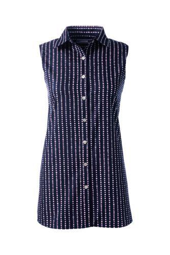 18072549bb336 Women s Sleeveless No Iron Shirt from Lands  End