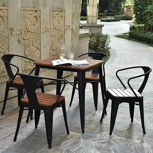 Outdoor Tolix Metal Chair And Table Inquiry And Order  Phone/whatsapp/wechat+86