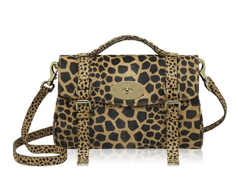Mulberry - Alexa in Natural Mini-Maxi Giraffe Hair Calf  fc040aa02a910