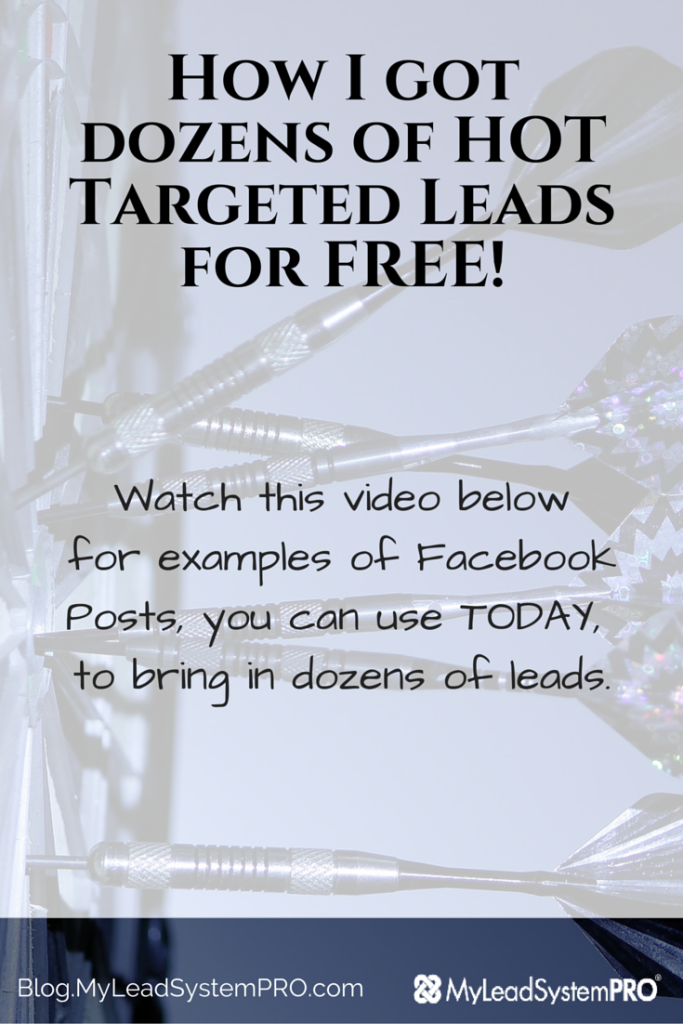 How I Got Dozens Of Hot Targeted Free Leads Lead