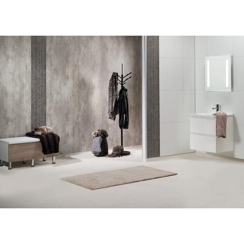 bathroom panel bauhaus cracked cement vtrumspanel