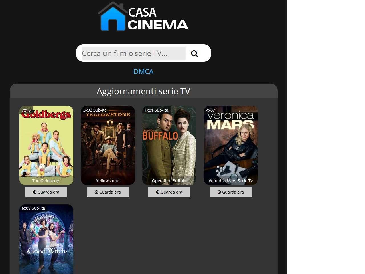 Casacinema Film e Serie TV Netflix in Streaming in 2020
