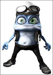 crazy frog poster Grenouille, Profil