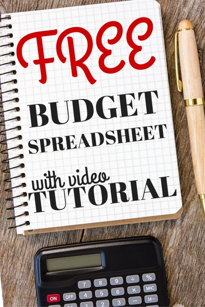 Download \u2013 Budget Spreadsheet With Video Tutorial All Things