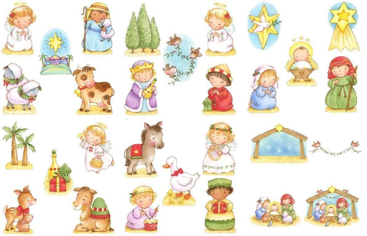Nacimiento de jesus para recortar y armar buscar con - Laminas de navidad para colorear ...
