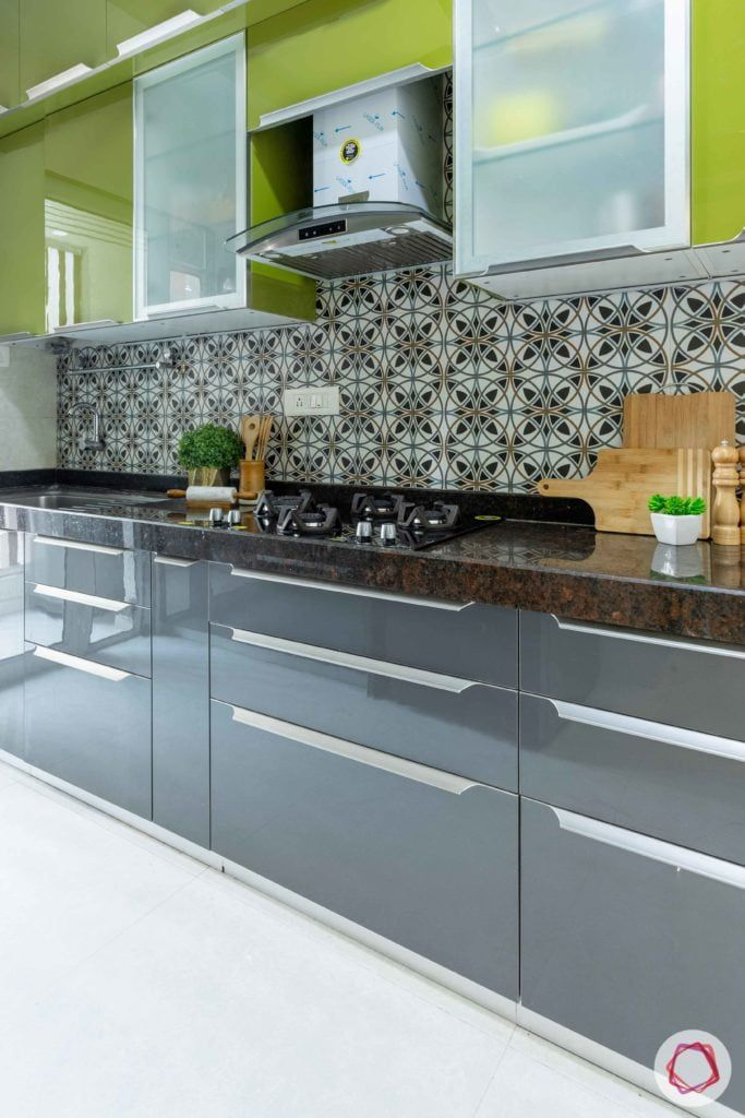 Flat Kitchen Designs: Prepare To Swoon Over This 2BHK In 2020