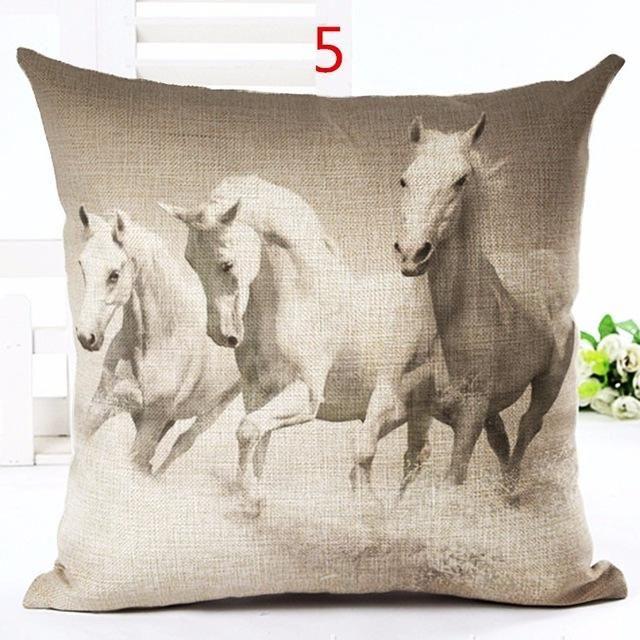 US SELLER-elephant cushion cover wildlife animal decorative throw pillow covers