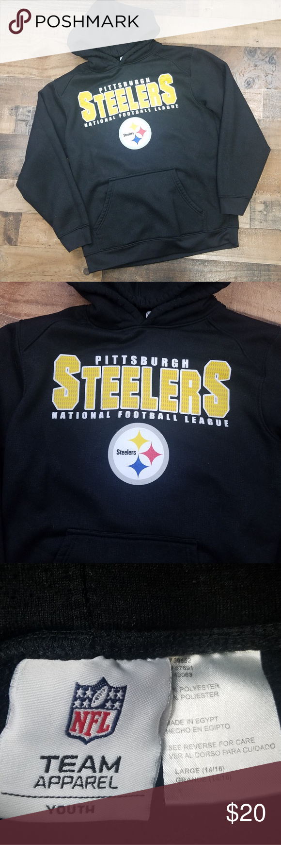 online store d7307 36e75 🌷NFL Team Apparel PITTSBURGH STEELERS Hoodie NFL Team ...