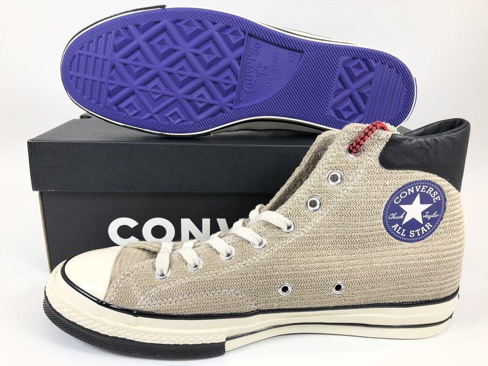 c7b3564fcdc Converse X CLOT Chuck Taylor All Star 70 High Top LA Pack Rare Limited  161299C