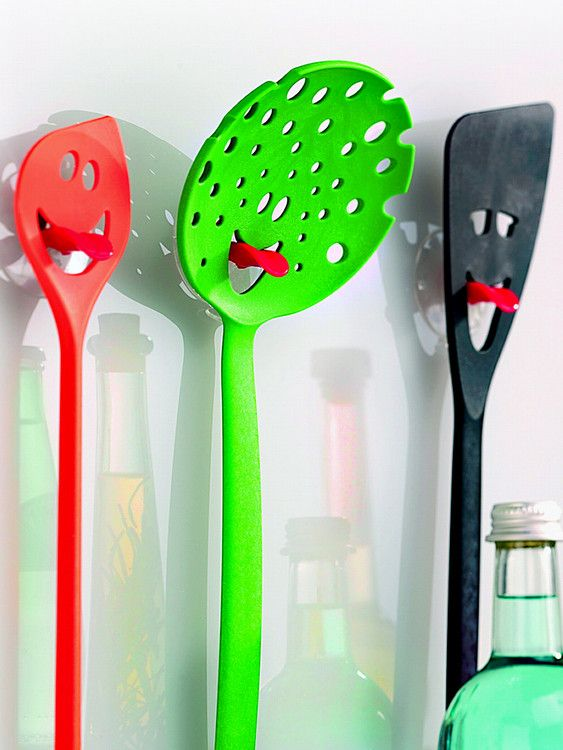 Kitchen Tools That Stick Their Tongues Out!  ... see more at InventorSpot.com