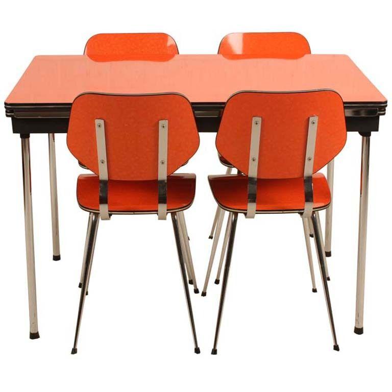 Orange Kitchen Set: Brabantia Dinner Set In Orange