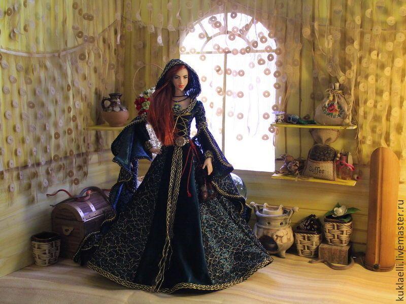 Кукла Колдунья - Лариса Исаева (kuklaelli) - Ярмарка Мастеров http://www.livemaster.ru/item/10004219-kukly-igrushki-kukla-koldunya