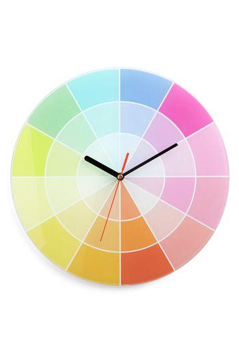 Cromalogical Order Clock Mod Cloth 61 99 Indie Decor Vintage Wall Decor Clock