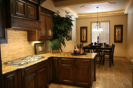 Other half of my dream kitchen- Bella Vista Custom Homes