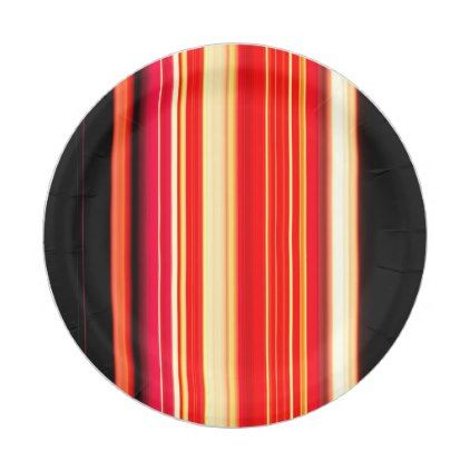 Modern Racing Stripes Personalized Paper Plate - home gifts ideas decor special unique custom inidual customized inidualized | home gifts | Pinterest ...  sc 1 st  Pinterest & Modern Racing Stripes Personalized Paper Plate - home gifts ideas ...