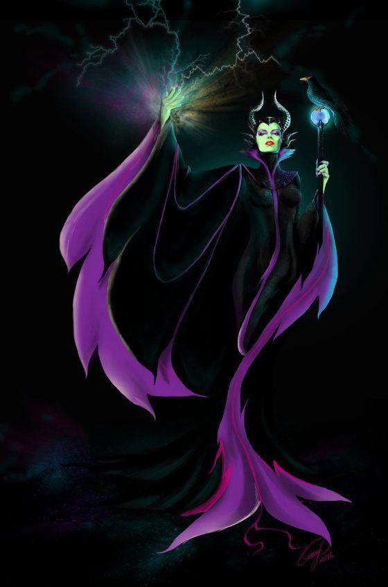 Maleficent Geek Art