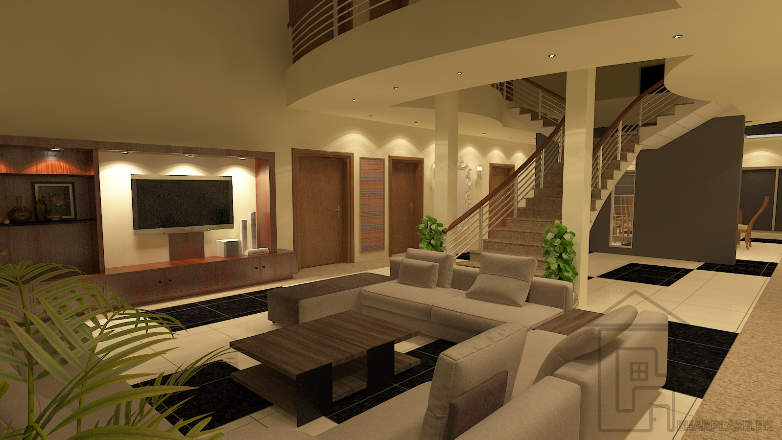 Hallway Idea Of Large House With Sitting Lobby And Dining Linked With Each Other Hallway Is The Most Important Part Of The House And Definitely Worthy Of Deco